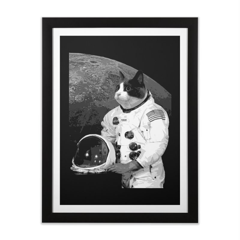 ASTROCAT Home Framed Fine Art Print by Art of Ryan Winchell
