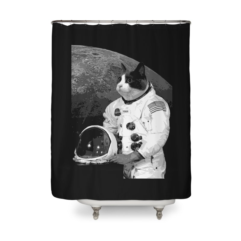 ASTROCAT Home Shower Curtain by Art of Ryan Winchell