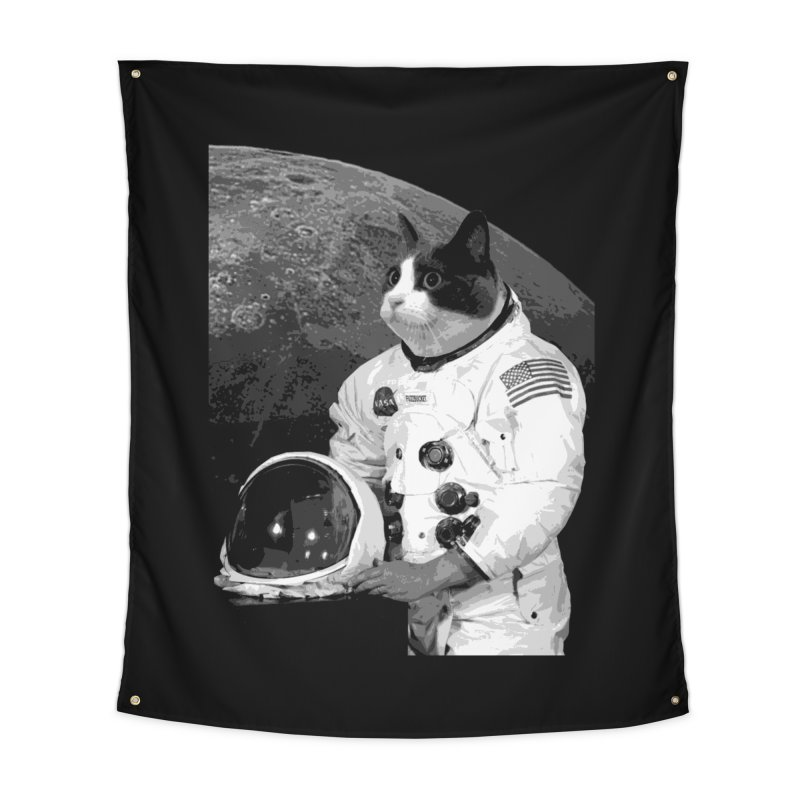 ASTROCAT Home Tapestry by Art of Ryan Winchell