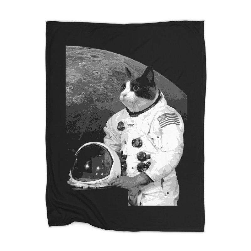ASTROCAT Home Blanket by Art of Ryan Winchell