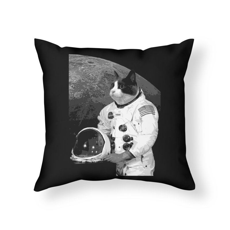 ASTROCAT Home Throw Pillow by Art of Ryan Winchell
