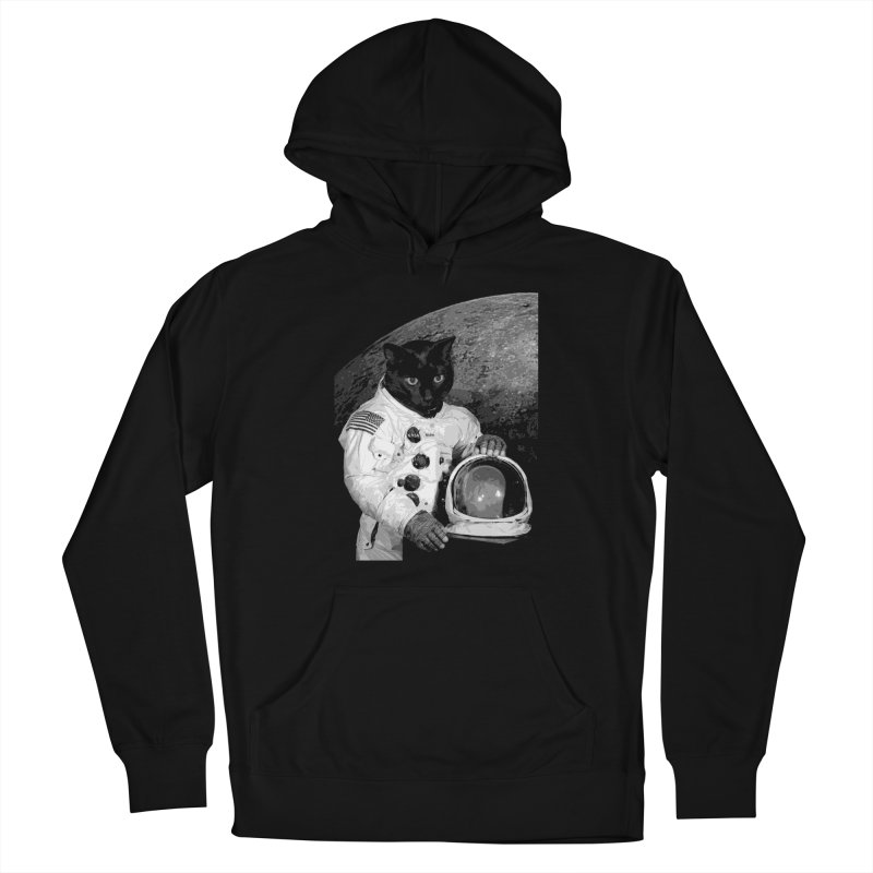 Astro Cat 2 Women's Pullover Hoody by Art of Ryan Winchell