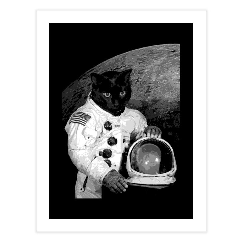 Astro Cat 2 Home Fine Art Print by Art of Ryan Winchell