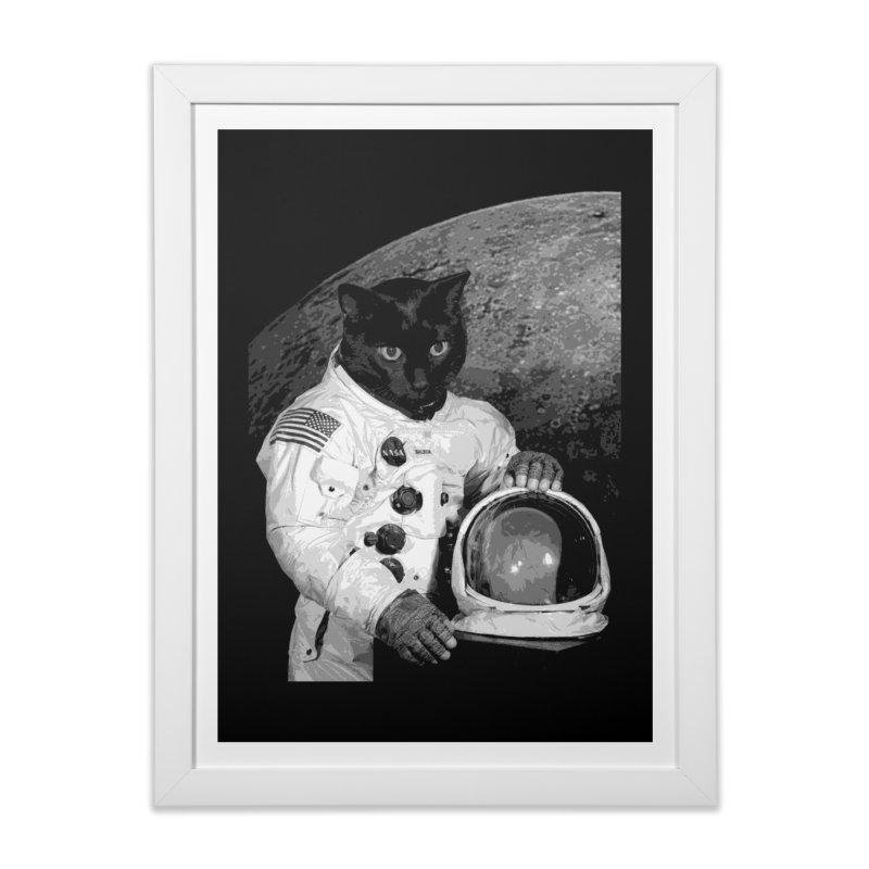 Astro Cat 2 Home Framed Fine Art Print by Art of Ryan Winchell