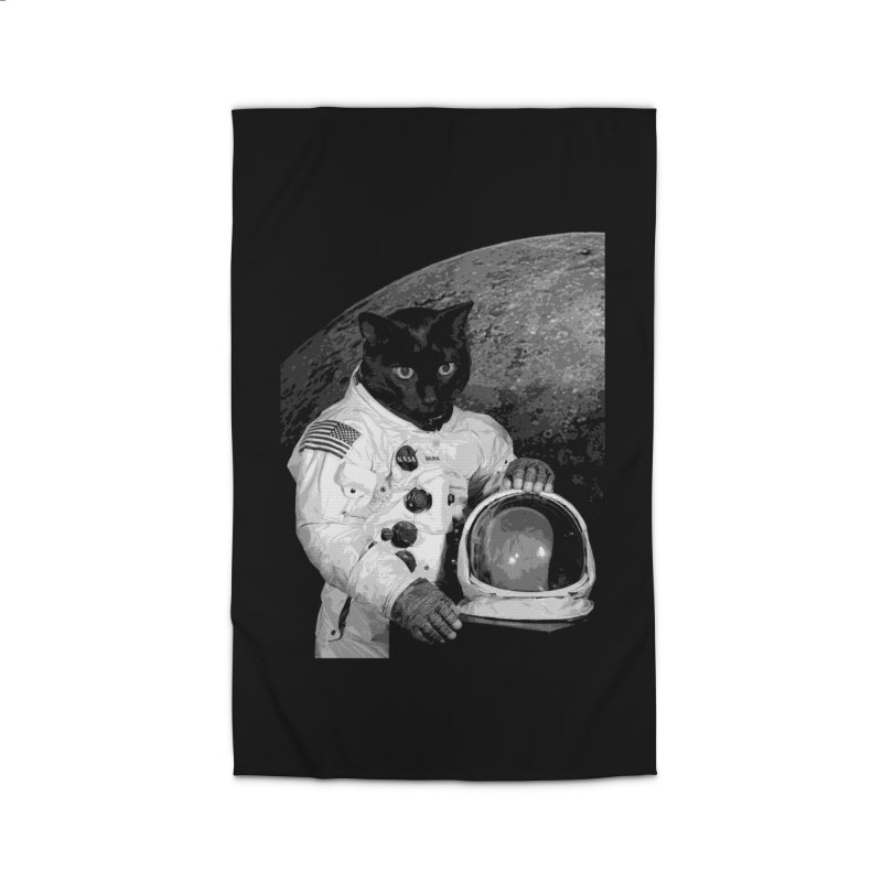 Astro Cat 2 Home Rug by Art of Ryan Winchell