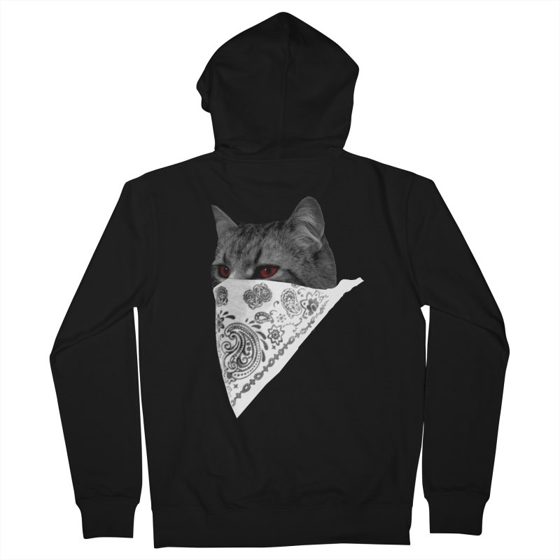 CREAM 3 Men's Zip-Up Hoody by Art of Ryan Winchell