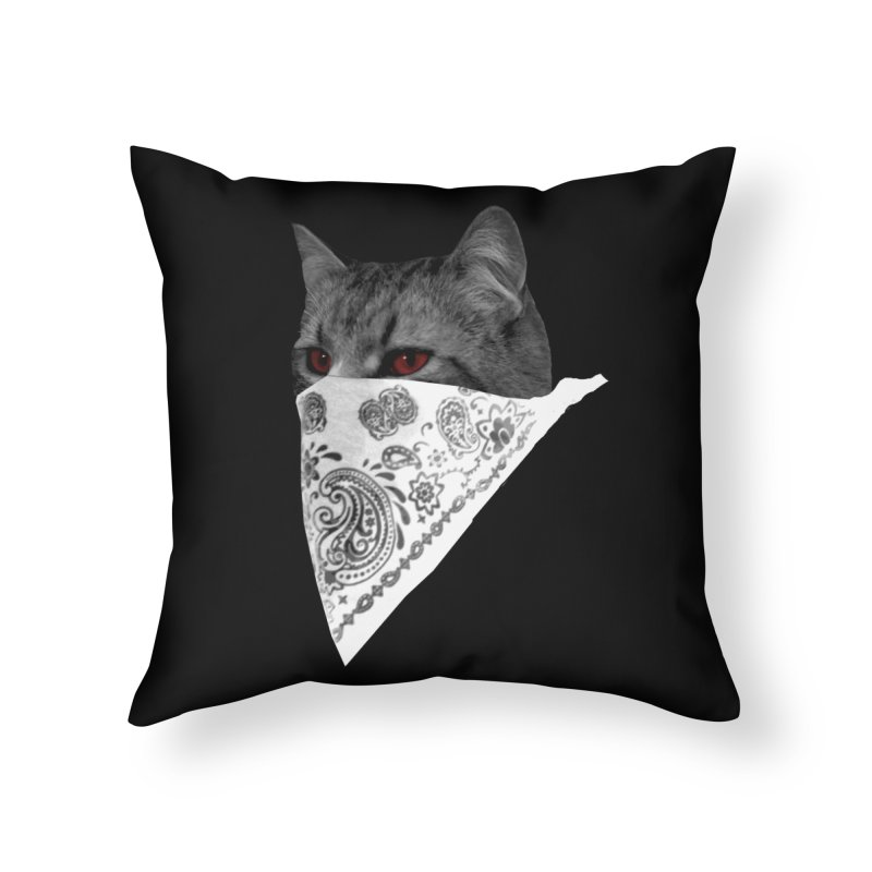 CREAM 3 Home Throw Pillow by Art of Ryan Winchell