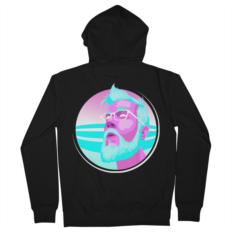 Shameless Self Promotion Men's Zip-Up Hoody by Art of Ryan Winchell