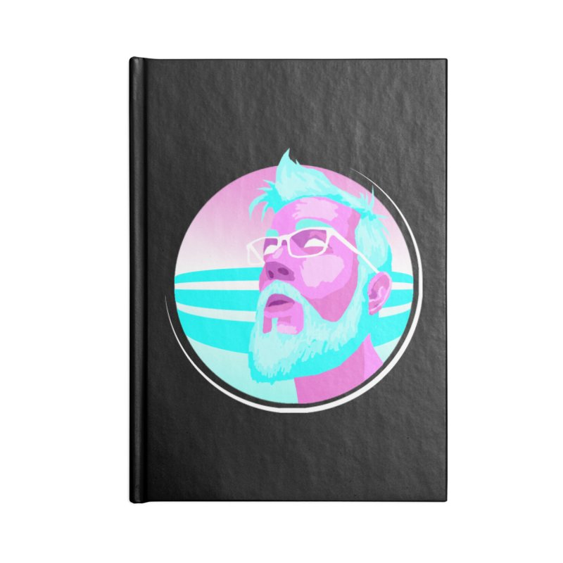 Shameless Self Promotion Accessories Notebook by Art of Ryan Winchell