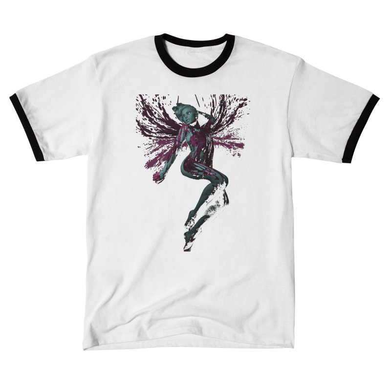 Splatter Angel Men's T-Shirt by Art of Ryan Winchell