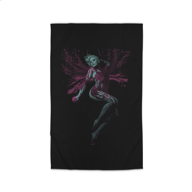 Splatter Angel Home Rug by Art of Ryan Winchell