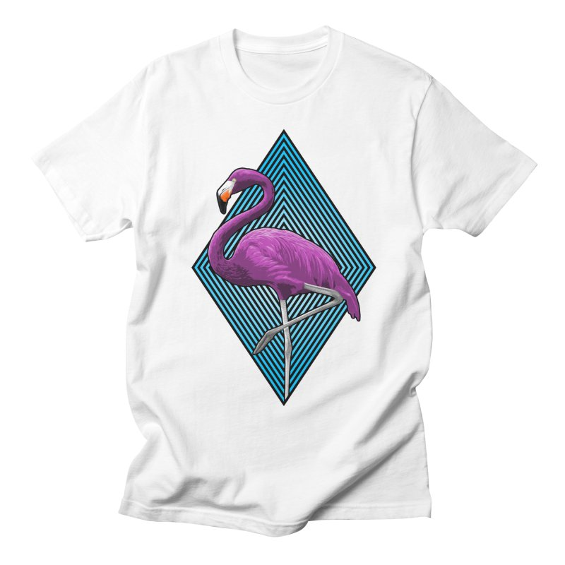 untitled flamingo project Men's T-Shirt by Art of Ryan Winchell