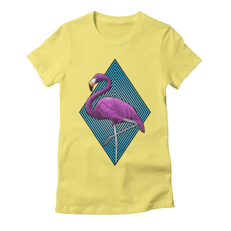 untitled flamingo project Women's T-Shirt by Art of Ryan Winchell