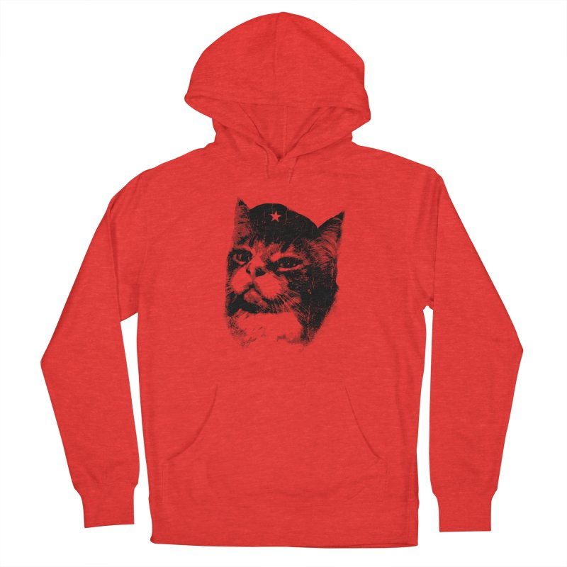 La Com-mew-nista Men's Pullover Hoody by Art of Ryan Winchell