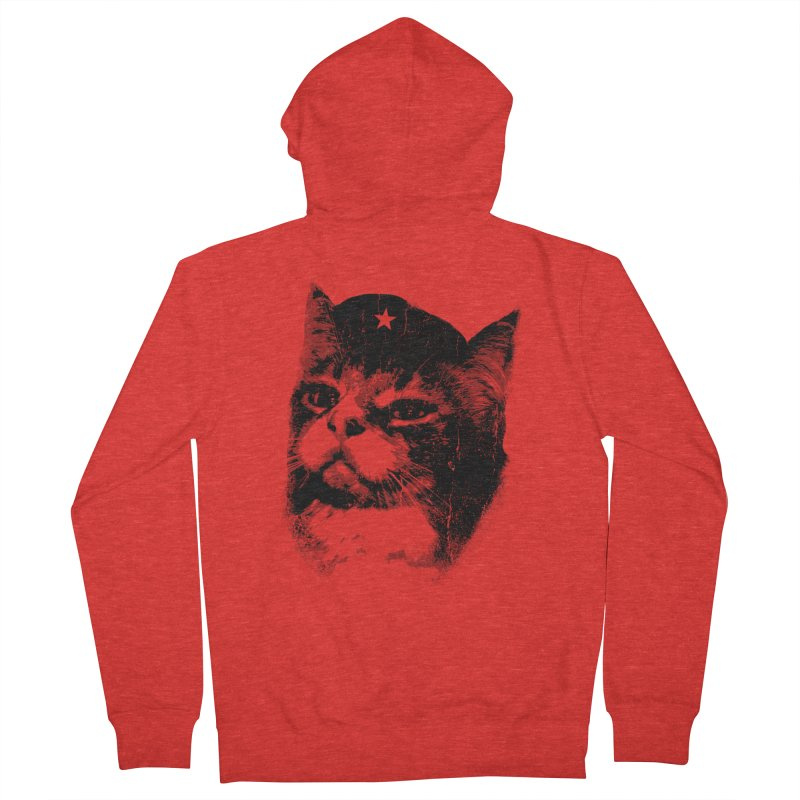 La Com-mew-nista Men's Zip-Up Hoody by Art of Ryan Winchell