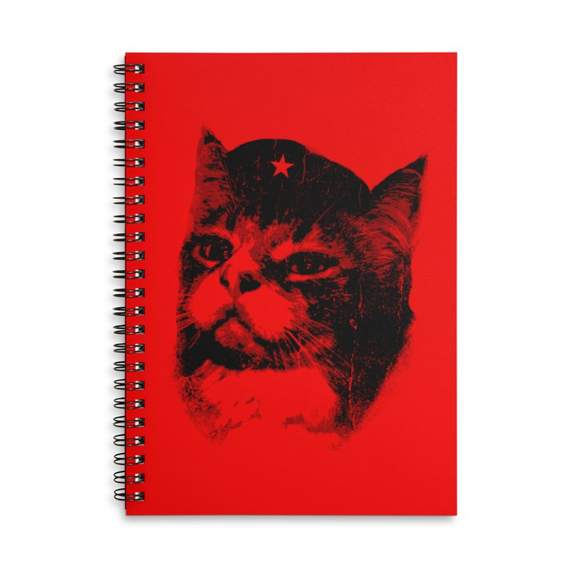 La Com-mew-nista Accessories Notebook by Art of Ryan Winchell