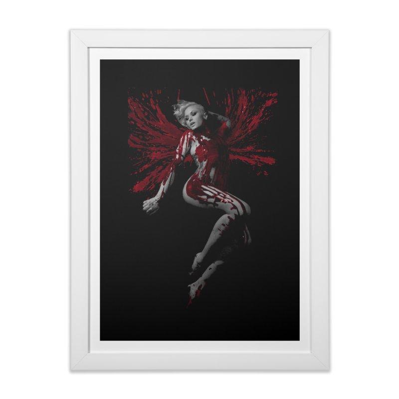 Splatter Angel Home Framed Fine Art Print by Art of Ryan Winchell