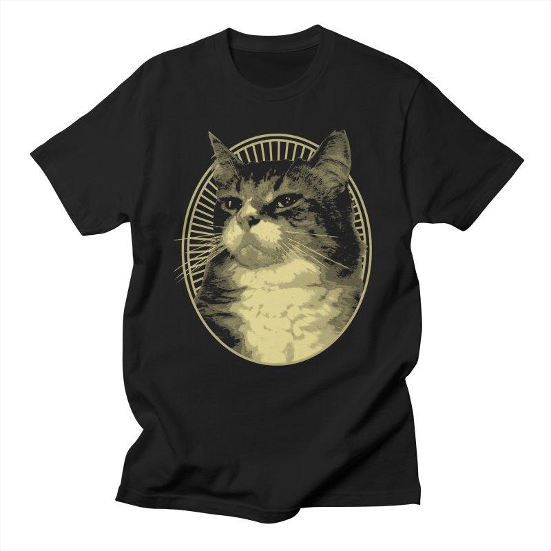 MEOW Men's T-Shirt by Art of Ryan Winchell
