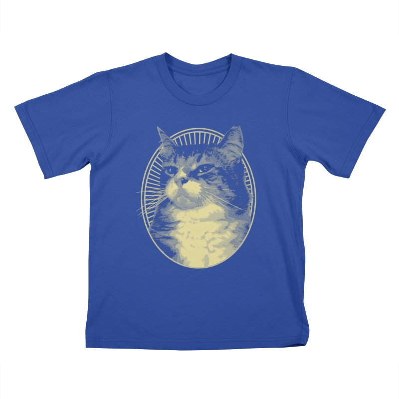 MEOW Kids T-Shirt by Art of Ryan Winchell