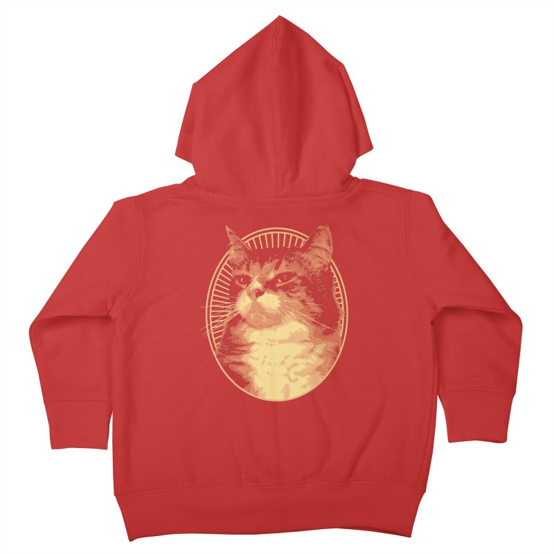 MEOW Kids Toddler Zip-Up Hoody by Art of Ryan Winchell