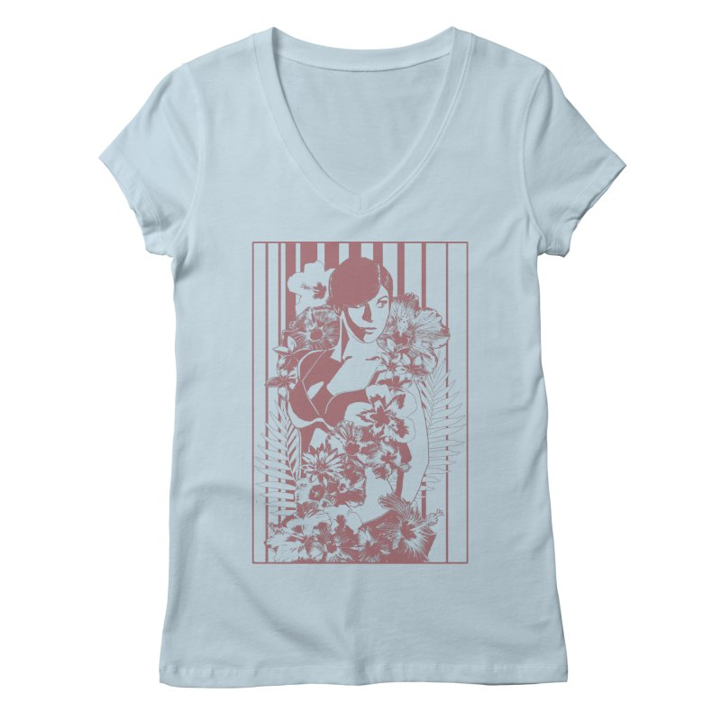 Daydreams Women's V-Neck by Art of Ryan Winchell