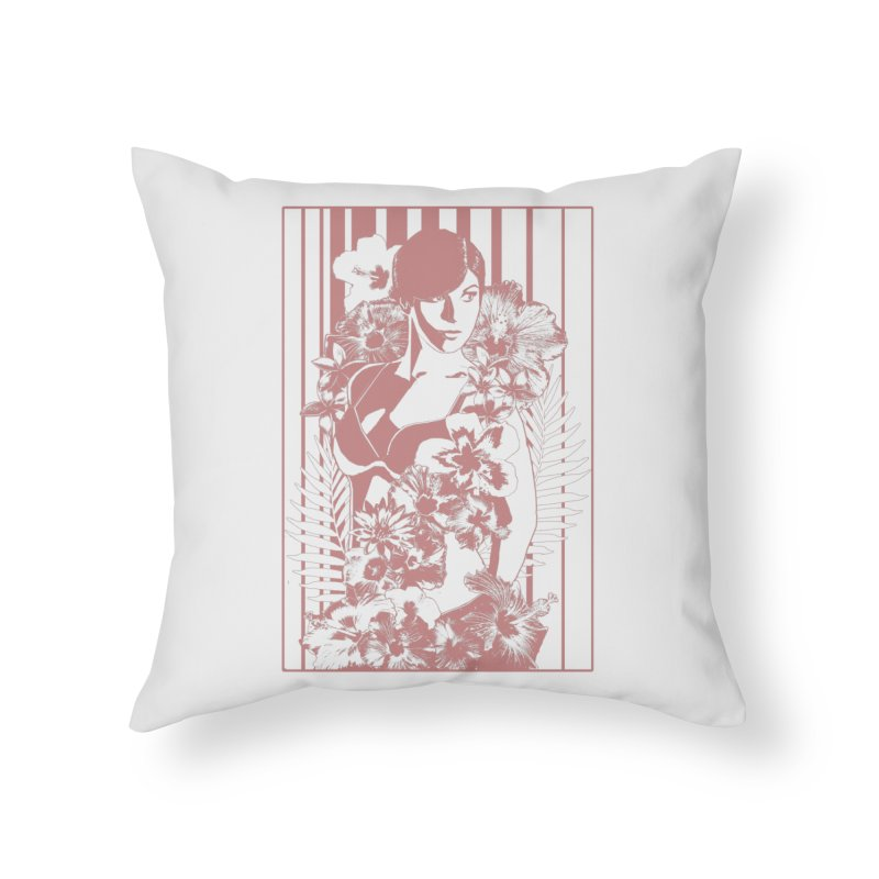 Daydreams Home Throw Pillow by Art of Ryan Winchell