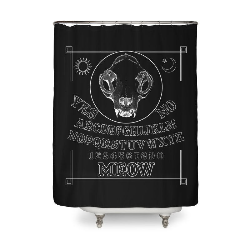 Spooky Meowmers Home Shower Curtain by Art of Ryan Winchell