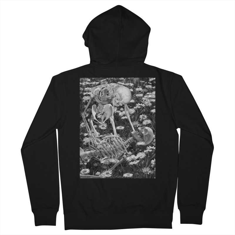 The Throes Men's Zip-Up Hoody by Art of Ryan Winchell