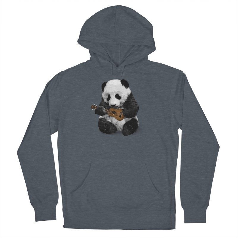 Ukulele Panda Women's Pullover Hoody by Art of Ryan Winchell