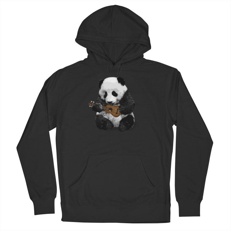 Ukulele Panda Men's Pullover Hoody by Art of Ryan Winchell