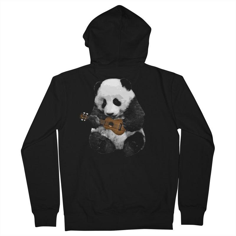 Ukulele Panda Women's Zip-Up Hoody by Art of Ryan Winchell