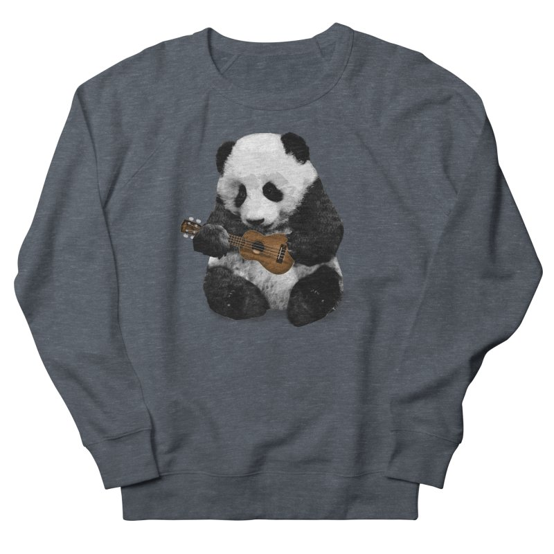 Ukulele Panda Men's Sweatshirt by Art of Ryan Winchell