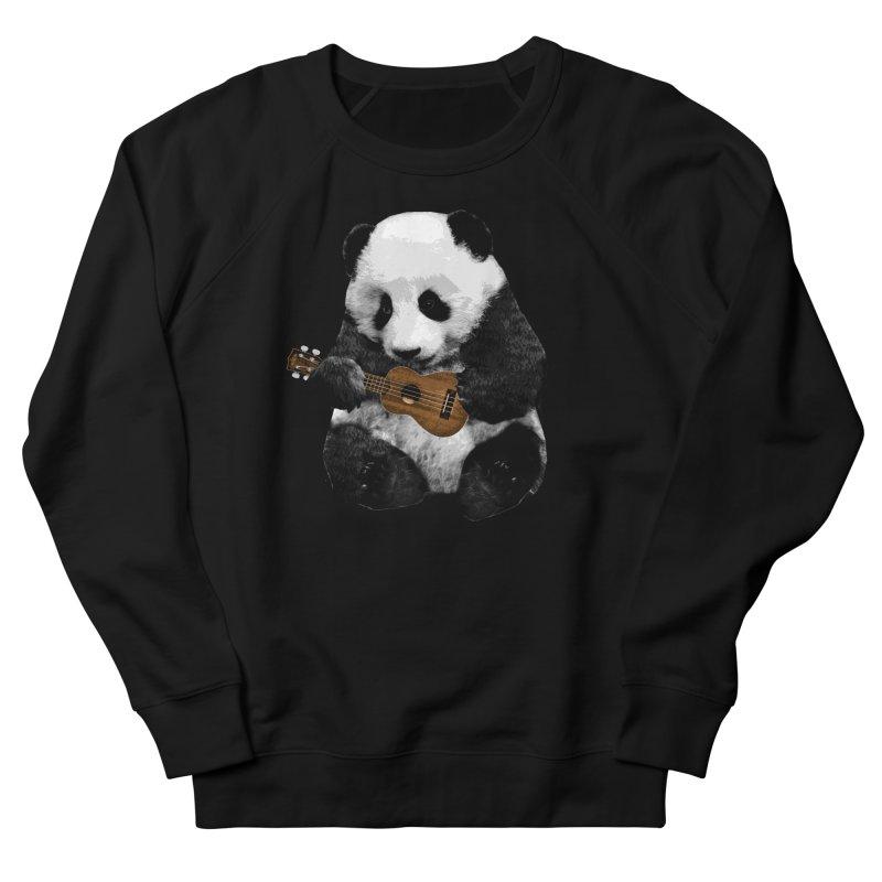 Ukulele Panda Men's Sweatshirt by Art of Ryan Winchell