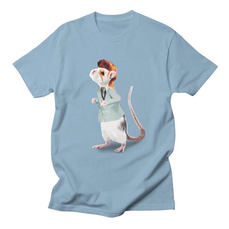 Bowie Rat Men's T-Shirt by Art of Ryan Winchell