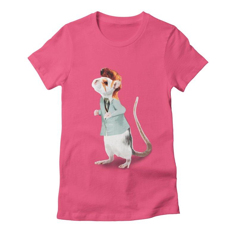 Bowie Rat Women's T-Shirt by Art of Ryan Winchell