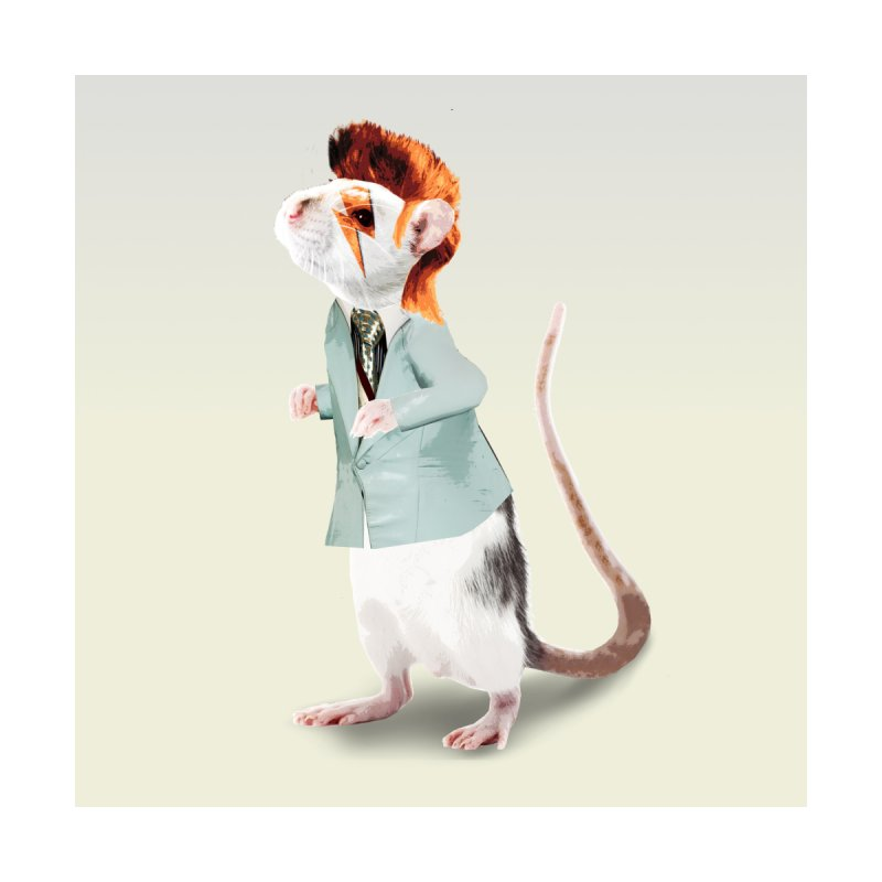 Bowie Rat Home Fine Art Print by Art of Ryan Winchell