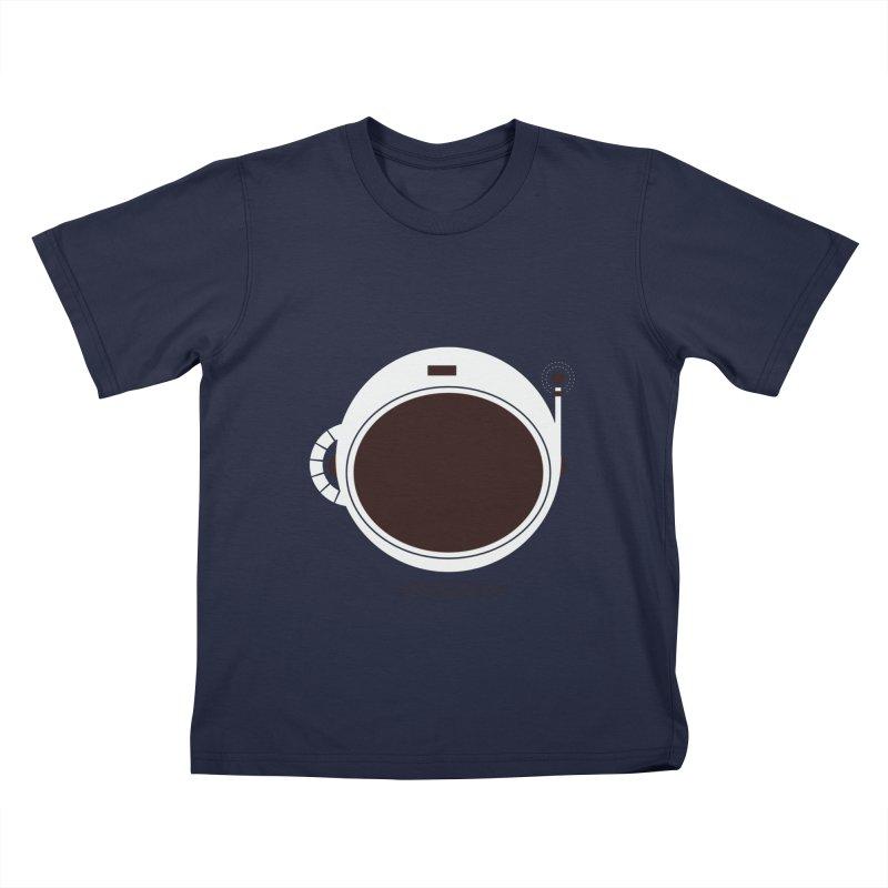Spaceman Kids T-Shirt by Ryder Doty Shop