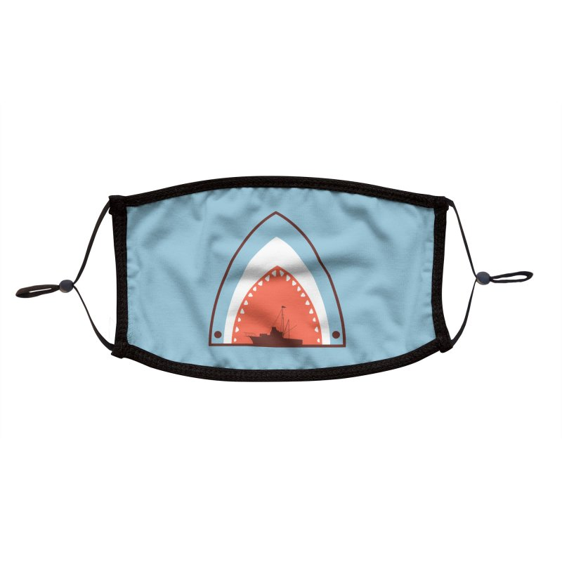Great White Bite Accessories Face Mask by Ryder Doty Shop
