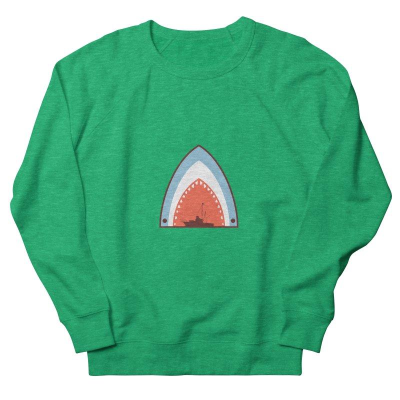 Great White Bite Women's Sweatshirt by Ryder Doty Shop