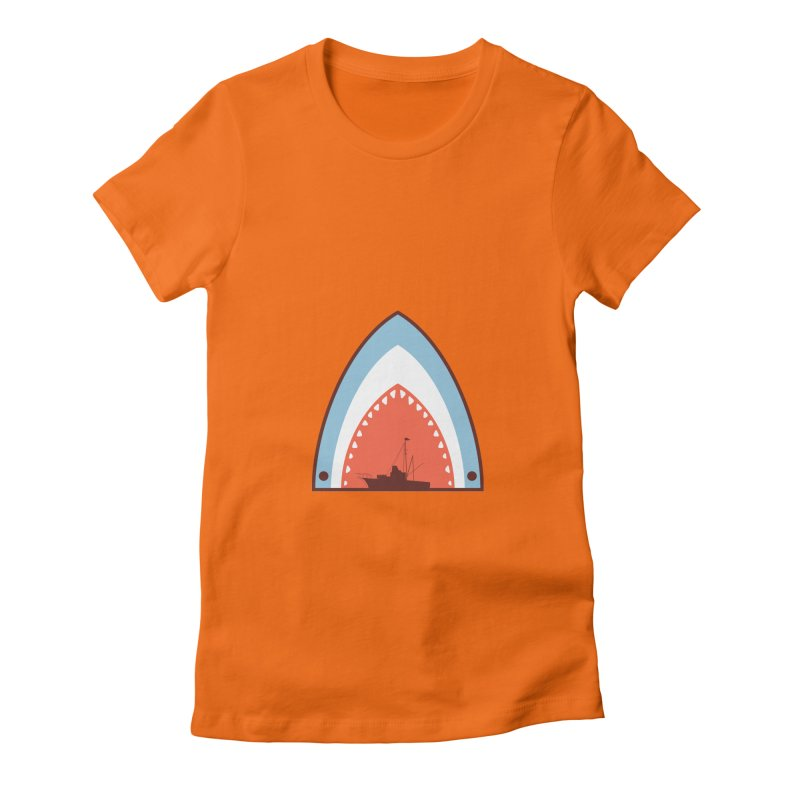 Great White Bite Women's T-Shirt by Ryder Doty Shop