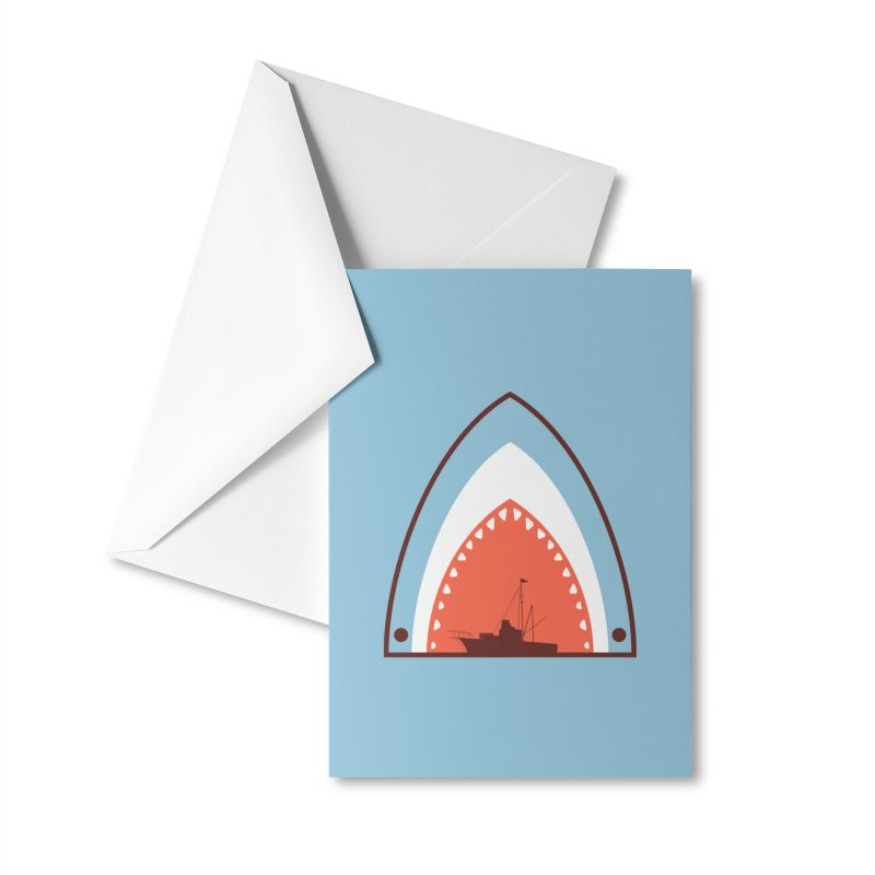 Great White Bite Accessories Greeting Card by Ryder Doty Shop