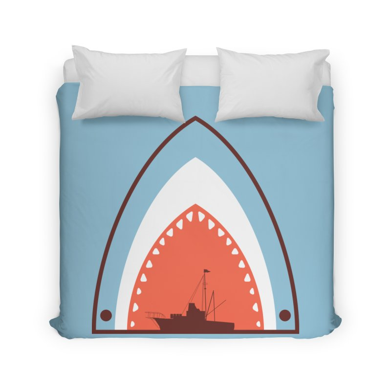 Great White Bite Home Duvet by Ryder Doty Shop