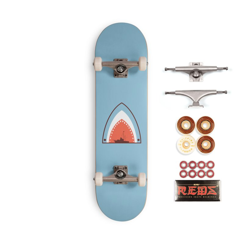 Great White Bite Accessories Skateboard by Ryder Doty Shop
