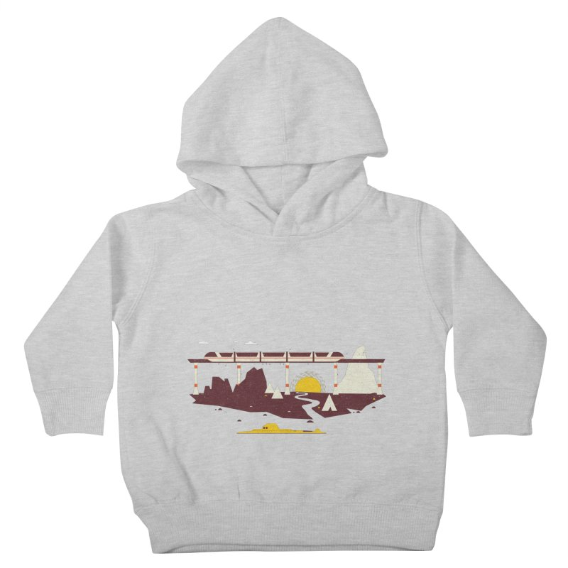 Magical Minimalism Kids Toddler Pullover Hoody by Ryder Doty Shop