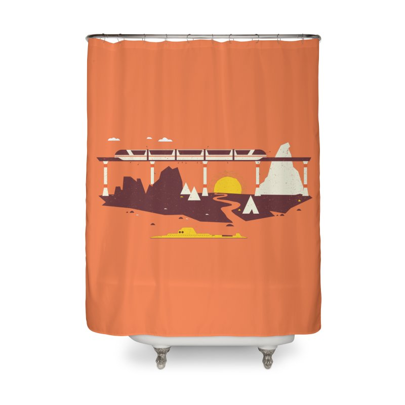 Magical Minimalism Home Shower Curtain by Ryder Doty Shop