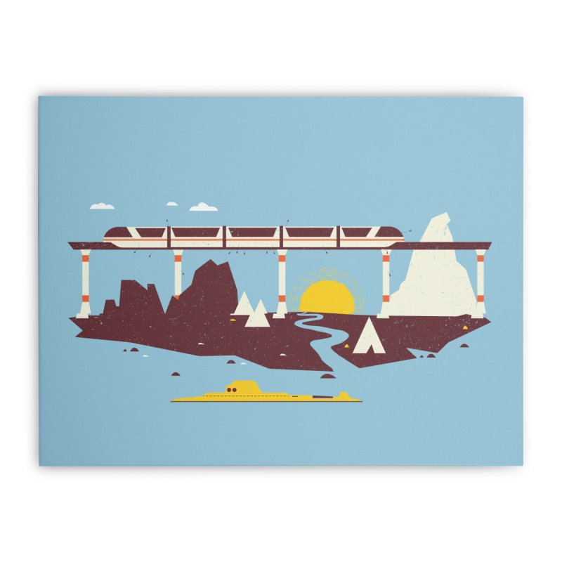 Magical Minimalism Home Stretched Canvas by Ryder Doty Shop