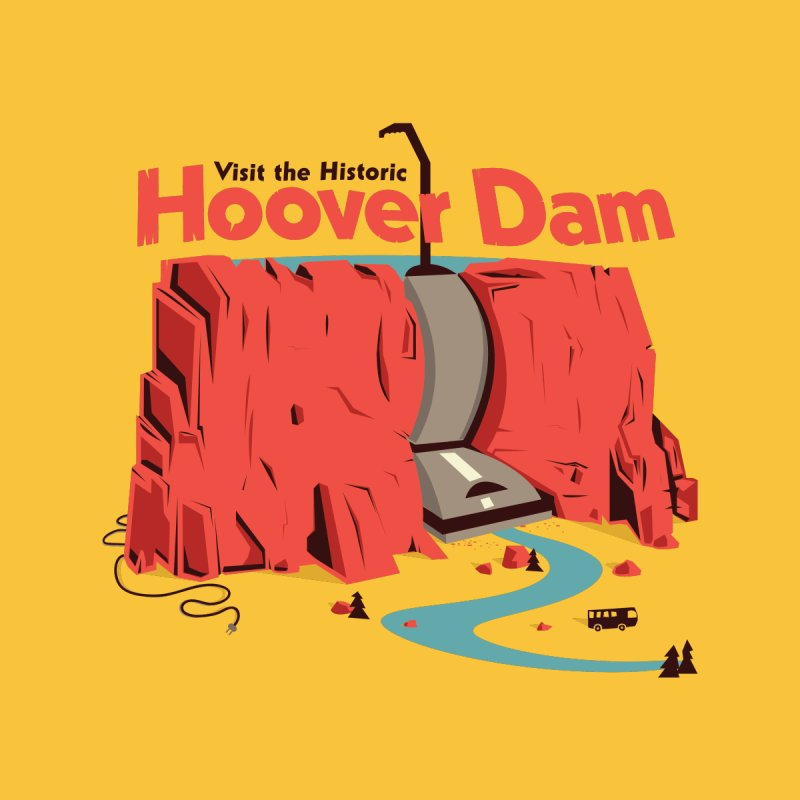Hoover Dam Accessories Greeting Card by Ryder Doty Shop