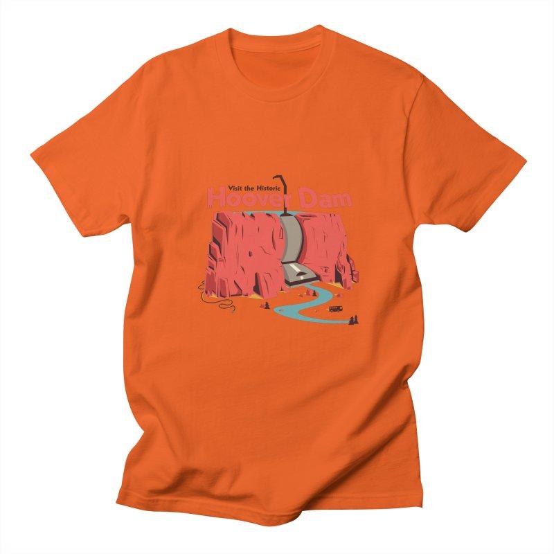 Hoover Dam Men's T-Shirt by Ryder Doty Shop