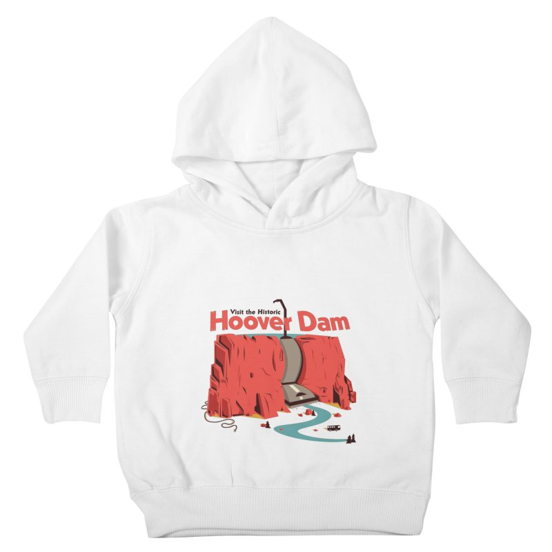 Hoover Dam Kids Toddler Pullover Hoody by Ryder Doty Shop