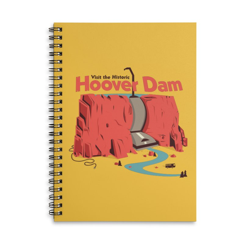 Hoover Dam Accessories Notebook by Ryder Doty Shop